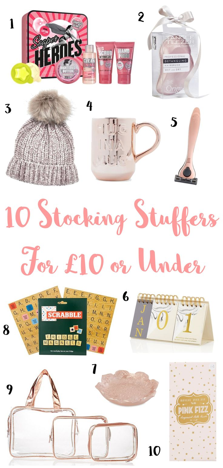 10 Stocking Stuffers For £10 or Under