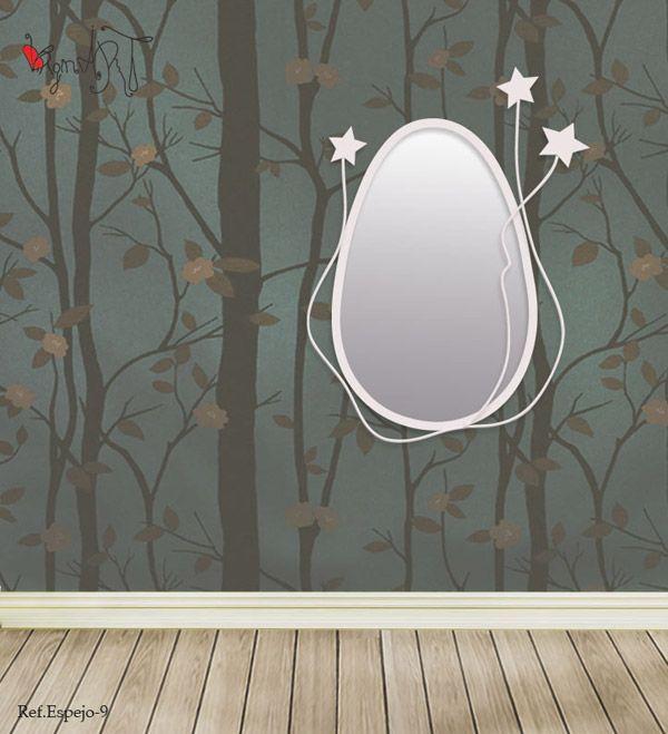 Espejos de forja espejos de forja modernos for Espejos para colgar