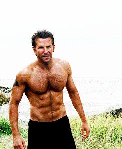 Bradley Cooper | The 23 Most Important Hairy Celebrity Chests Of All Time