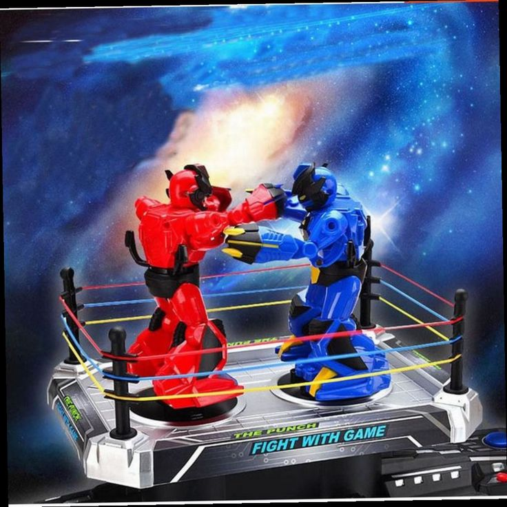 48.27$  Watch now - http://alicct.worldwells.pw/go.php?t=32780252194 -  Robot Fighting Game Action And Toy Figures RC Kumite Robot Fight Game Robot PK Toys For Boy Best Xmas Gift