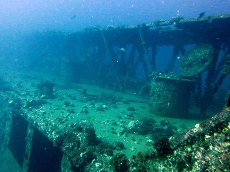 YO257 - Navy Yard Oiler Ship Wreck - Oahu, Hawaii
