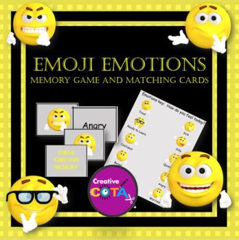 This is an individual activity from my Emoji Emotions bundle, which also includes my free Emoji Emotions Classroom Check-in Key.Emoji Emotions BundleActivities can be used with any self-regulation/behavior/social curriculum (Zones of Regulation™️, PBIS™️, SEL™️, How Does Your Engine Run™️…) Emoji emotions can also be used to discuss character traits in a literacy activity.