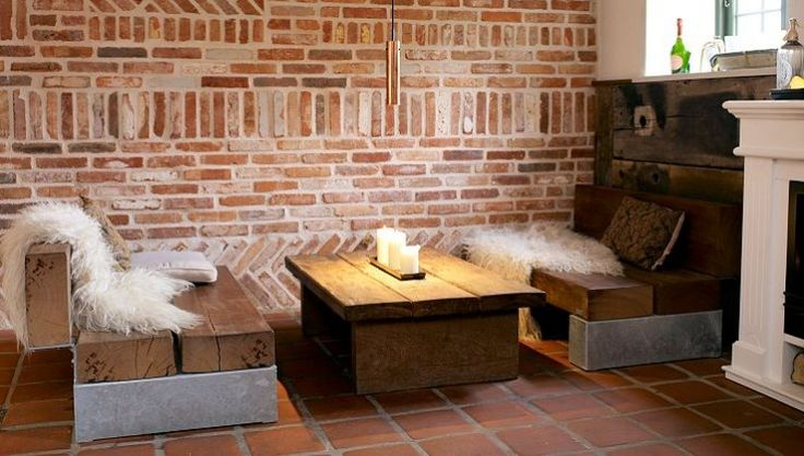 Vinbar 14, in Vejle - THORS loungeset, Slinger made in reclaimed wood #reclaimedwoodfurniture #loungefurniture #caféfurniture