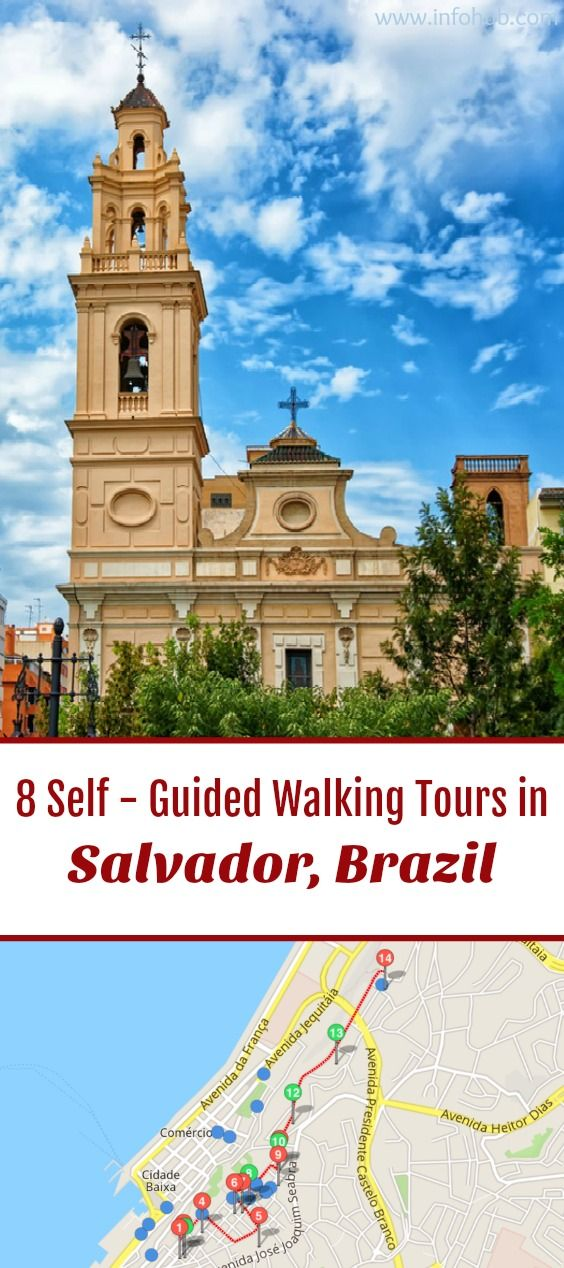 Follow these 6 expert designed self-guided walking tours in Salvador, Brazil to explore the city on foot at your own pace. Each walk comes with a detailed tour map and together they are the perfect Salvador city guide for your trip.
