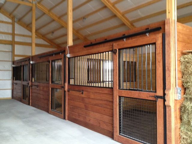 Best 25 stalls ideas on pinterest for 2 stall horse barn kits