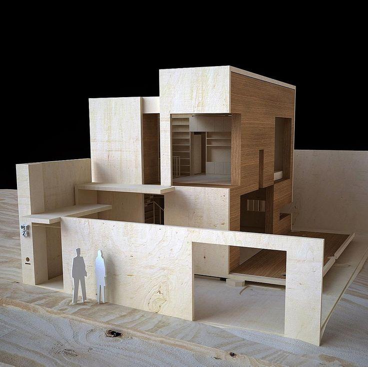 25 best ideas about architecture model making on - Diseno de casas pequenas ...