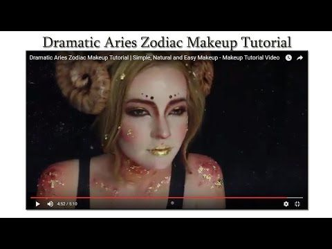 Dramatic Aries Zodiac Makeup Tutorial | Makeup Tutorial Channel... See More Here : http://goo.gl/jDA1dc  Hope Your Enjoy! ..... Like, Share, Comment & Subscribe Us!  More Makeup Tutorial Channel videos ... Click Here: https://www.youtube.com/channel/UC3SbRN6zFEgCdnKHZj28B4w #halloweenmakeup #halloweenmakeuptutorial #makeup #makeuptutorial #easymakeup #makeupvideos
