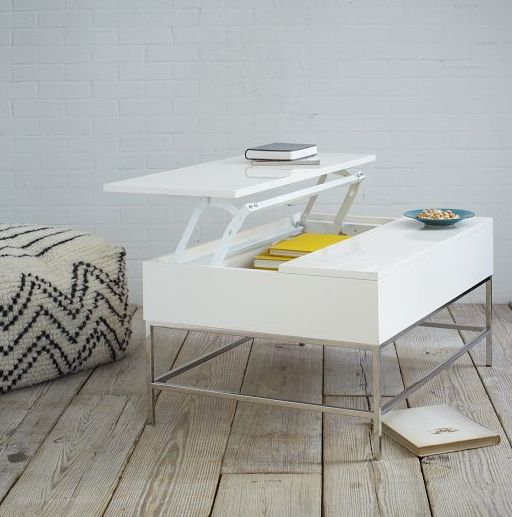 Stylish lacquered coffee table #WestElm