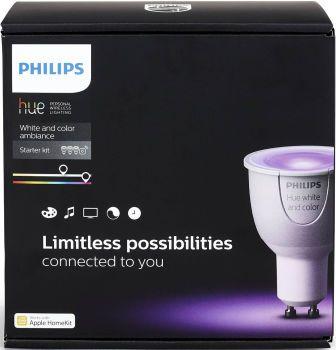 Philips Hue GU10 Color Startpakke