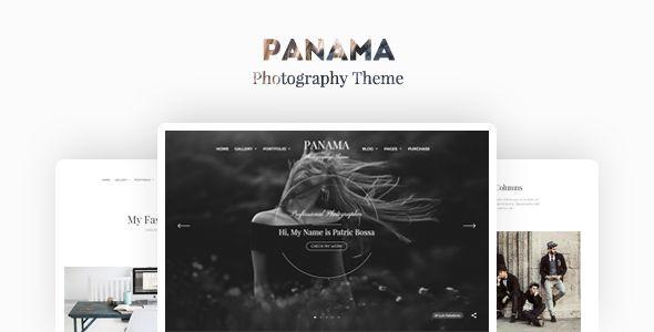 Panama - Photography Portfolio Theme Clean, good functionality, nice style