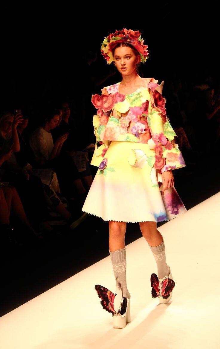 Stockholm Fashion Week Spring/Summer 2015. Designer: Johanna Karlsson. Photo: Sampo Axelsson