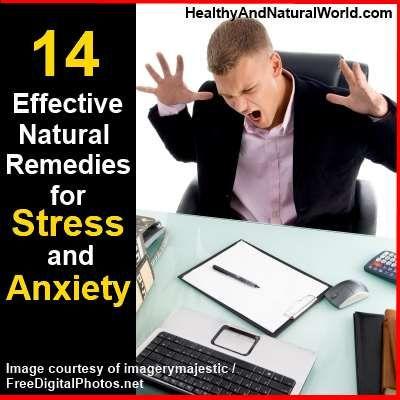 14 rimedi naturali efficaci per stress e l'ansia
