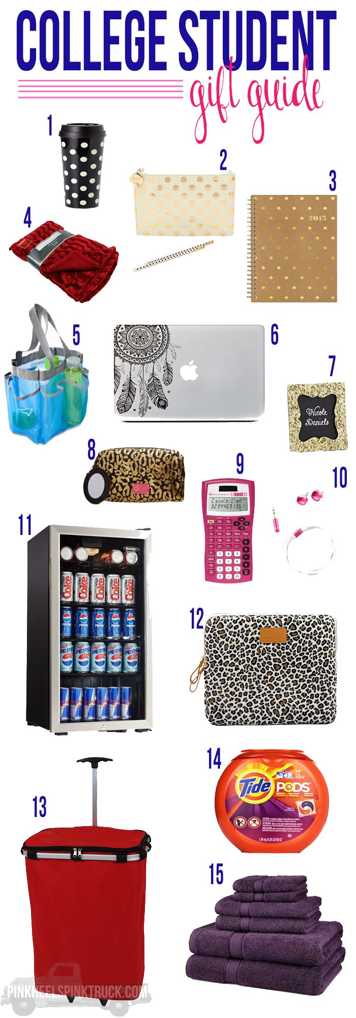 Have a High School Graduate in your life? Looking for a gift idea for a college student? Check out this College Student Gift Guide!