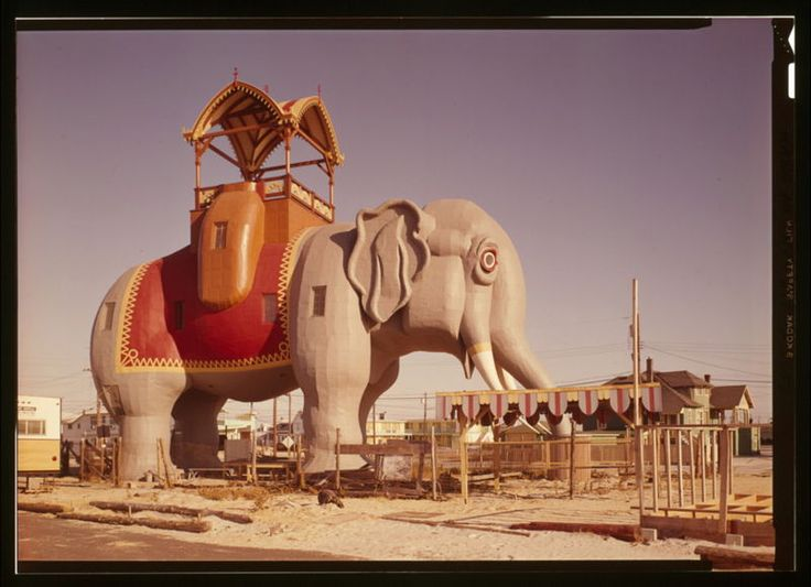 Margate's 4 story cement elephant..