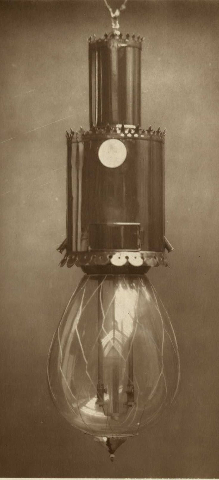 Patent Improved Electric Arc Lamp of Messrs Jolin and Parsons (1883). IET Archives ref: SPT/P/I/14/13