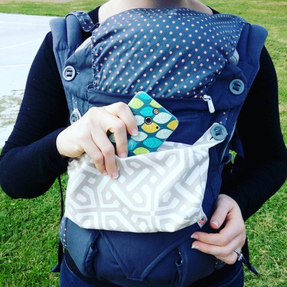Zipper Pocket for Ergo Baby 360 Carrier                                                                                                                                                      More