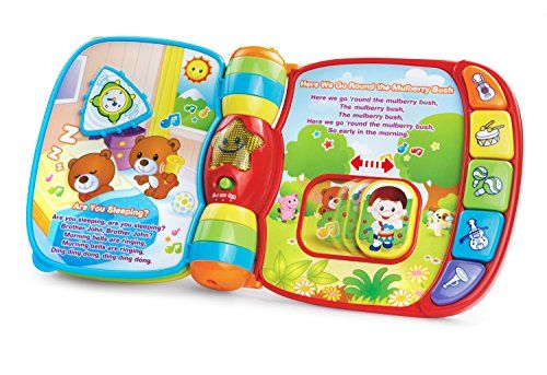 VTech Musical Rhymes Book (Frustration Free Packaging). For price & product info go to: https://all4babies.co.business/vtech-musical-rhymes-book-frustration-free-packaging/