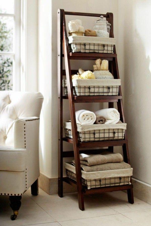 19 ideas geniales para usar cestas como almacenamiento adicional en los espacios pequeños