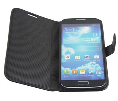 Aranez Launch Flip Samsung Galaxy S4 Leather Case