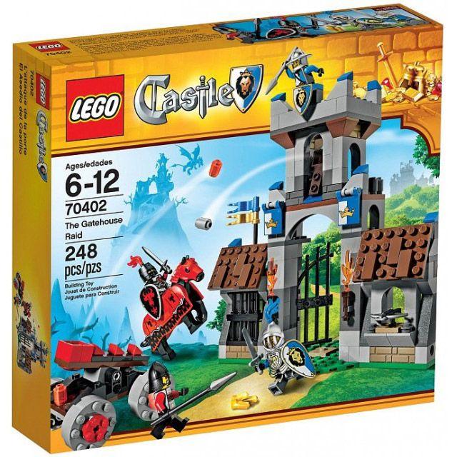 Đồ chơi LEGO Castle 70402 The Gatehouse Raid – Trận chiến giữ thành