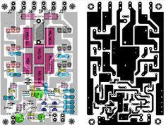 Power Amplifier 1000W Rocky TEF Rockola Expandable | Circuit