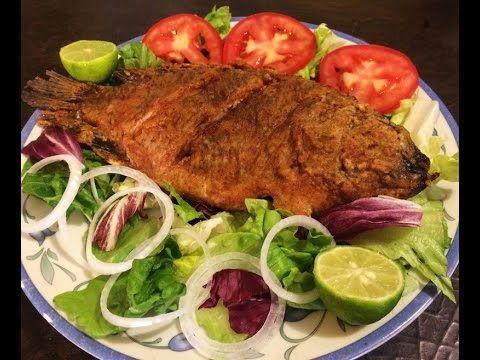 Receta Pescado Frito, Super facil y Rica!! - YouTube