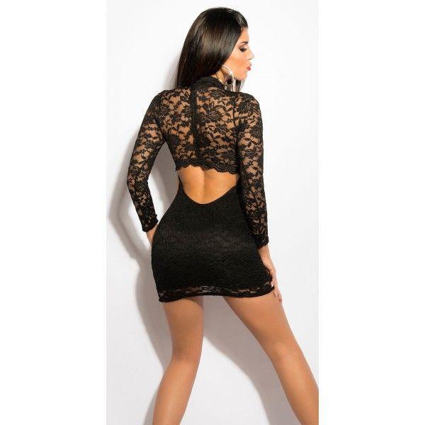 Rochie din dantela cu spatele gol,negru http://www.rochiistarglow.com/rochii-din-dantela/10198-rochie-din-dantela-cu-spatele-golnegru.html