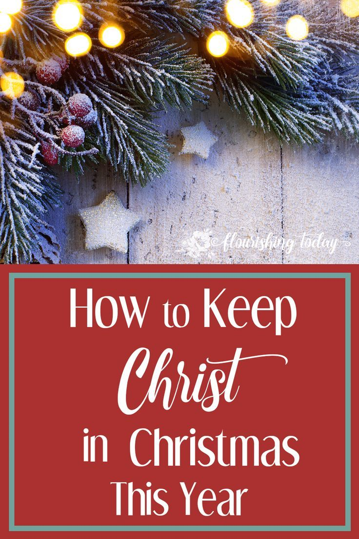 Does the hustle and bustle of the holidays leave you forgetting the true meaning of Christmas? Here's 3 steps on how to keep Christ in Christmas this year!