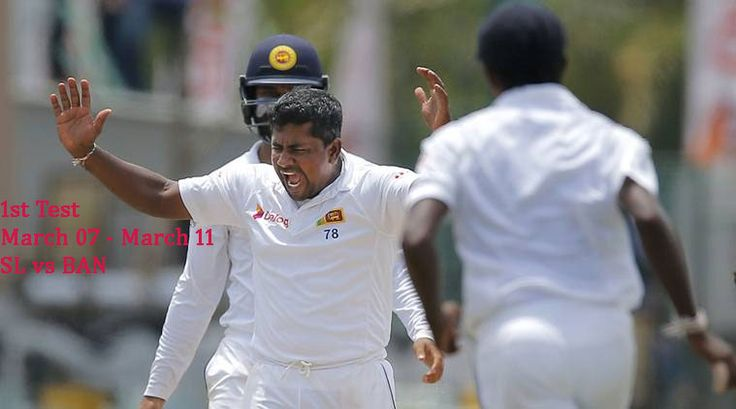 SL vs BAN 1st Test Live Cricket Score, Live Streaming Sri Lanka vs Bangladesh, Match Prediction Mar 07 - Mar 11. Day 1 Day 2 Day 3 Day 4 Day 5 Highlights