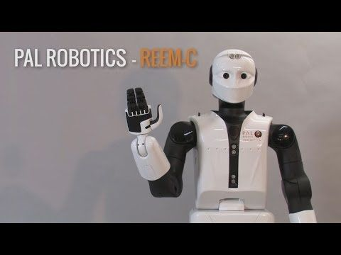 REEM-C Humanoid Robot for Research :: Gadgetify.com