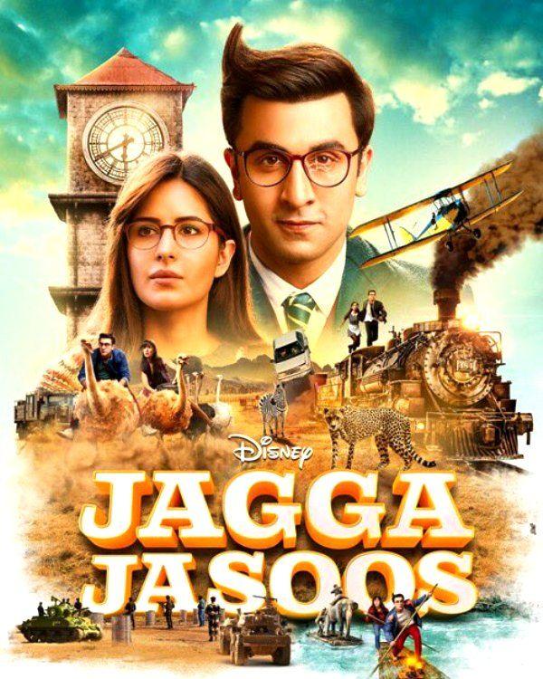 Jagga Jasoos' latest poster gives us a sneak peek into Ranbir Kapoor and Katrina Kaif's epic adventure – view pic #FansnStars
