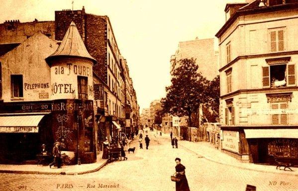 Carrefour Marcadet / Mont Cenis 1900