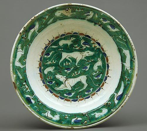 Dish [Iznik, Turkey] (1979.412)   Heilbrunn Timeline of Art History   The Metropolitan Museum of Art