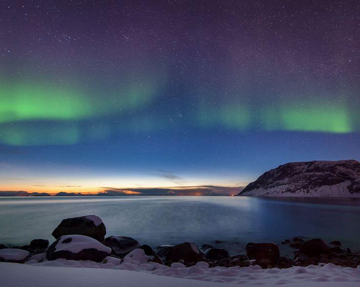Pan-Starrs al borde de la noche polar