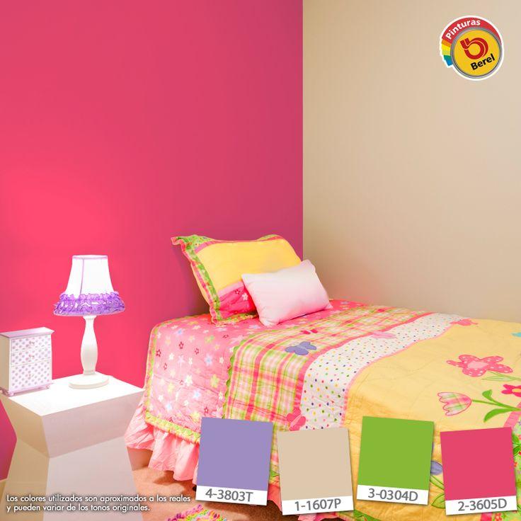 66 best sala images on pinterest at sign color palettes - Decoracion cuartos juveniles ...