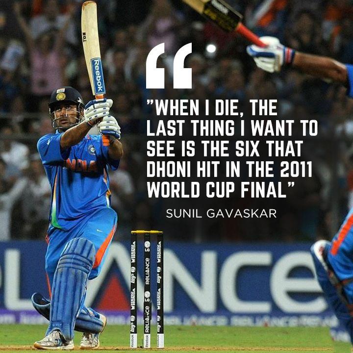 Sunil Gavaskar about MS Dhoni :) For more cricket fun click: http://ift.tt/2gY9BIZ - http://ift.tt/1ZZ3e4d