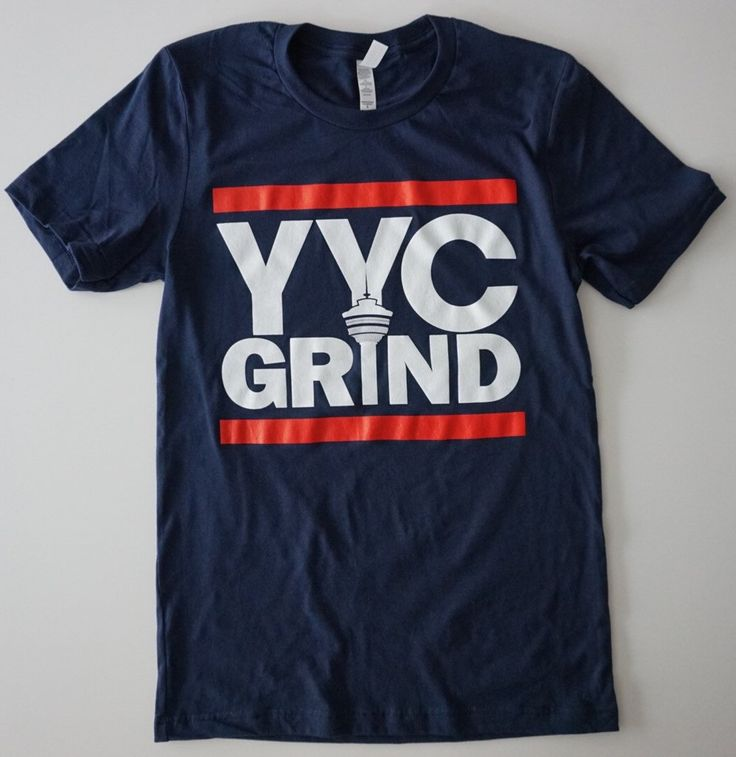 YYC GRIND NAVY BLUE T-Shirt