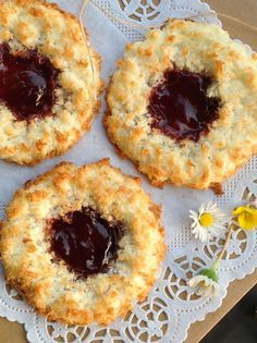 When last I was in London, I bought these delicious Gluten Free Jam Coconut Rings by Mrs Crimble's and my, were they delicious ! So when I finally got back home, I decided to give them a try and make a home made version! I used my normal recipe for coconut macaroons which are so…