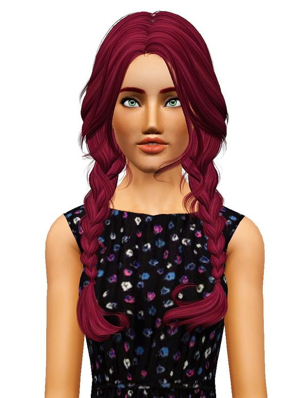 NewSea`s Clover hairstyle retextured by Pocket for Sims 3