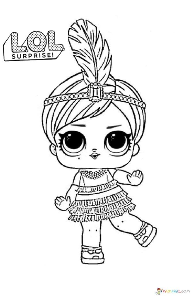 Lol Surprise Dolls Coloring Pages Print Them For Free All The Series Unicorn Coloring Pages Princess Coloring Pages Lol Dolls