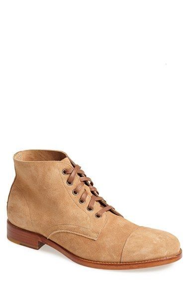 Maison+Forte+'Whoner'+Suede+Cap+Toe+Boot+(Men)+available+at+#Nordstrom