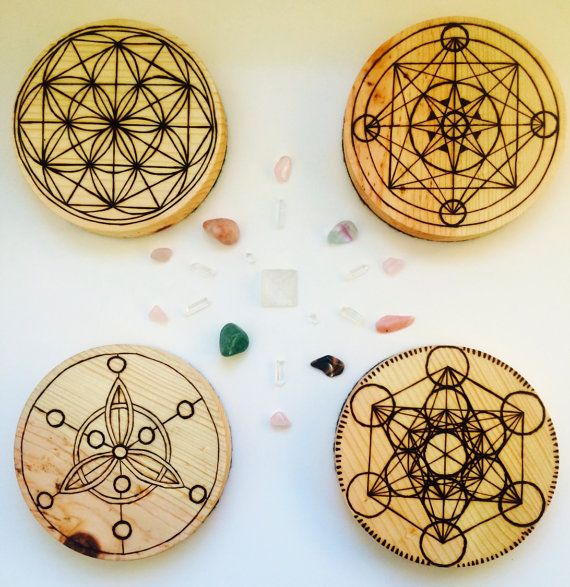 CUSTOM Crystal Grid Template Board Made to Order by WaifCreations