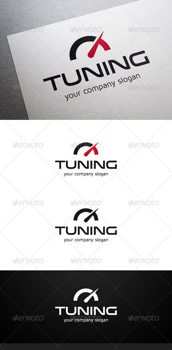 Tuning Logo #GraphicRiver Description Tuning Logo is a multipurpose logo. This logo can be used by tuning companies, etc. What's included? 100% vector AI and EPS files CMYK Fully editable – all colors and text can be modified Layered 3 color variations Font Fonts used: Venera Maven Pro Don't forget to rate if you like! Created: 27 November 13 Graphics Files Included: Vector EPS