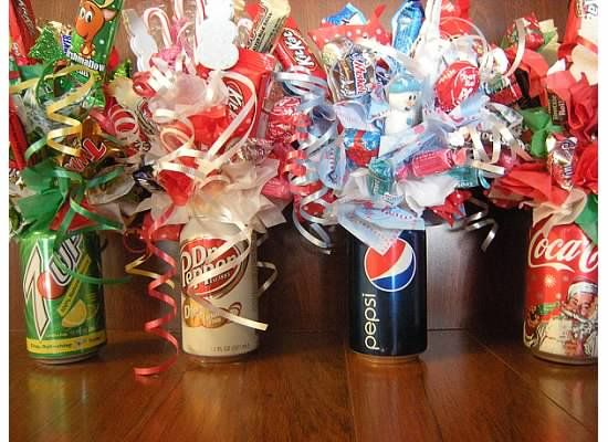 some one made these for a fundraiser at church! Sold for $10 a can... they could have gone for more!