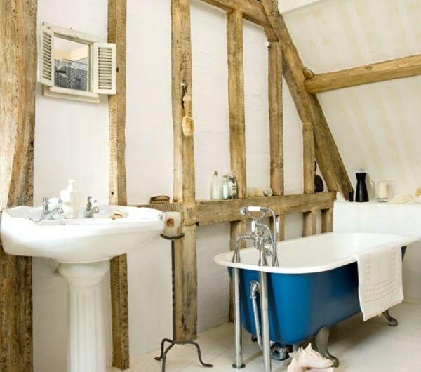 Die besten 25+ Blaue badezimmer im landhausstil Ideen auf - badezimmer landhausstil ideen