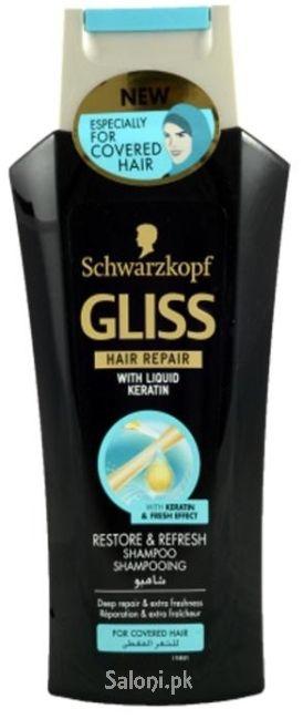 Schwarzkopf Gliss Hair Repair Restore & Refresh Shampoo 250 ML