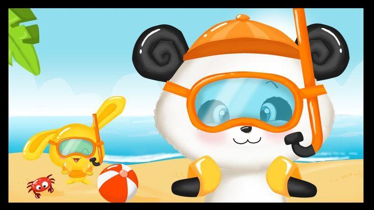 Les vacances d'été - Comptine pour enfants