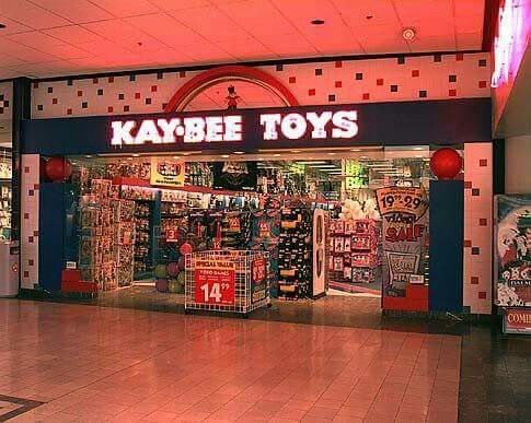 No more toy stores in the mall...
