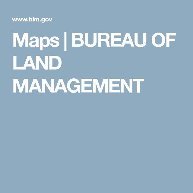 Maps | BUREAU OF LAND MANAGEMENT