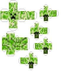 Image result for paper toys minecraft